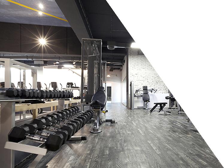 Fitnessstudio Hantelbank